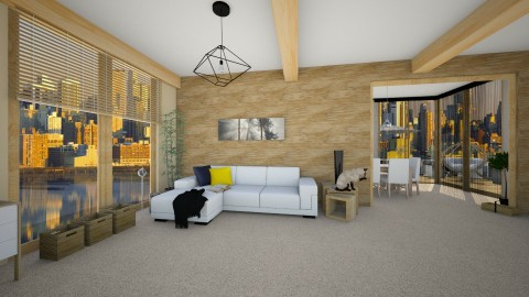Design 5 _ Livingroom - Modern - Living room - by ExpressYourself
