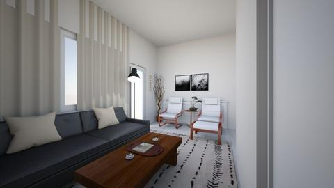 japandi Lroom8 - Living room - by moon_safi