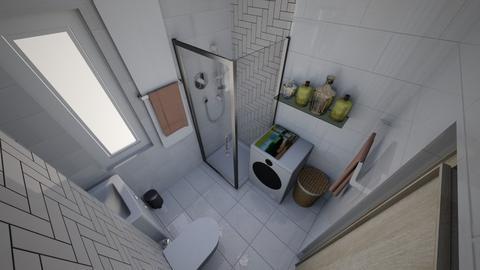 Lazienka Mamy12 - Modern - Bathroom - by AleksaM