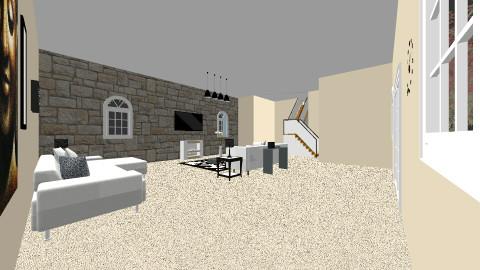 Living Room View 1 - Modern - Living room - by Javonw