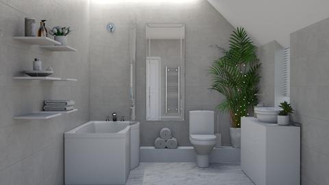 Neutral Bathroom - Bathroom - by creato
