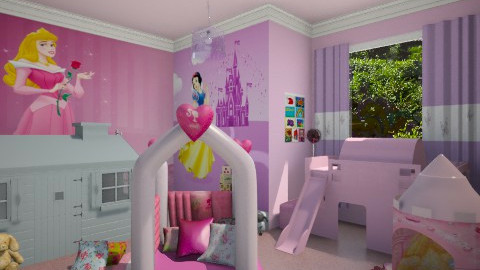 Princess - Kids room - by starinthesky1987