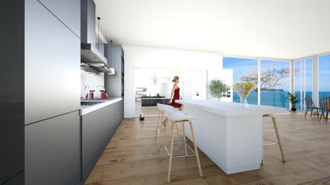 Dream house - Kitchen - by Anna Van Dijck