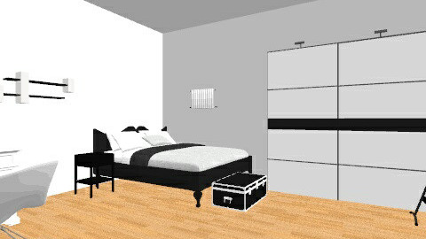 Black and White  - Modern - Bedroom - by oliviajackson