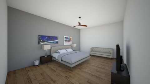 future  - Bedroom - by xime2002