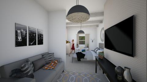 Bedroom 5 - Modern - Bedroom - by Alicehxia