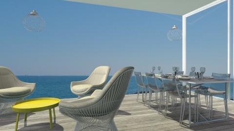 harmaa lasi - Living room - by annikas
