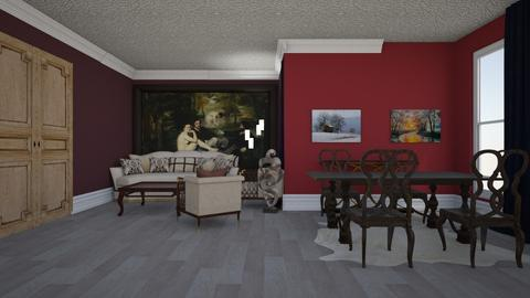 Royal Dining - Glamour - Living room - by rcrites457