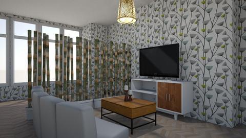 Template Baywindow Room - Living room - by camila1234567