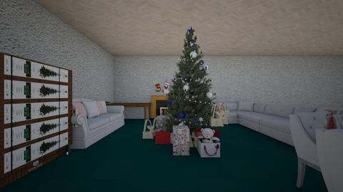 Christmas - Living room - by GBNB