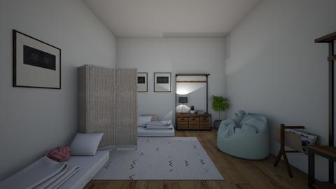 twins - Bedroom - by joetee