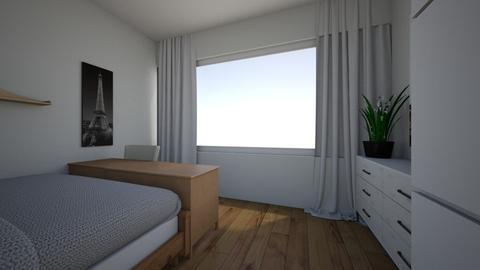 sofies real room - Modern - Bedroom - by sofie louise tinggaard