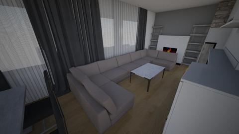 nikoleta - Living room - by Gerrrtruda