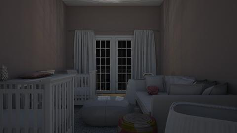 Mauve - Kids room - by katiebw