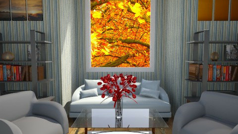 Autumn living room - Living room - by kinga1204