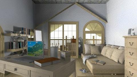 woods - Living room - by kevin vergara