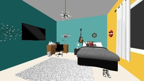 meu quarto - Modern - Bedroom - by Mariana Leopoldino