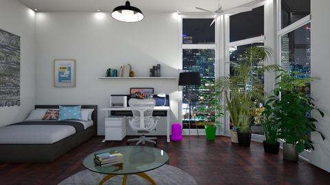 enough room  - Bedroom - by Iiiso