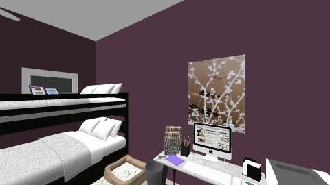Twin Teen Bedroom - by AKF2025