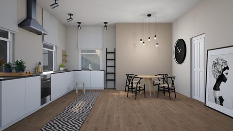 ARTISAN FLOORING template - Kitchen - by evemorgan96