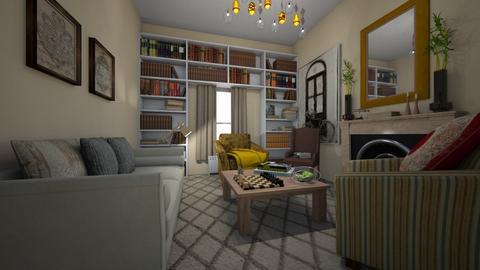 Living room Home - Modern - Living room - by kristenaK