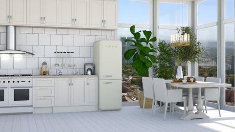 Scandinavian kitchen - by Aymee Estrella