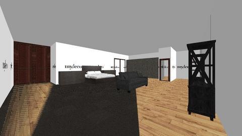 room - Bedroom - by teexrex