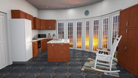 Dome House Kitchen - Kitchen - by zizzy