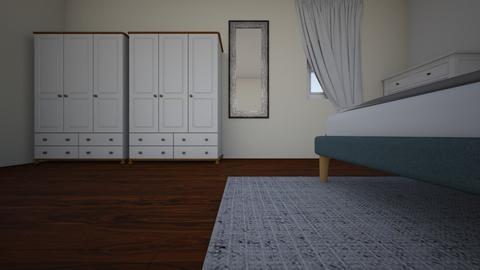 bed 1 - Modern - Bedroom - by aparnasri