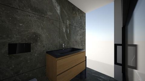 badkamer idee - Rustic - Bathroom - by jannie1990