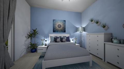 Blue bedroom - Modern - Bedroom - by Denisa250