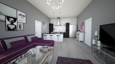 apartament - Living room - by ceciliadamian