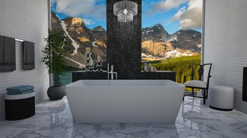 Mountains - Bathroom - by Tuitsi