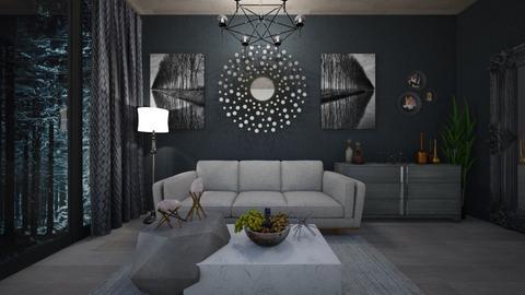 dark - Living room - by Dashka0709
