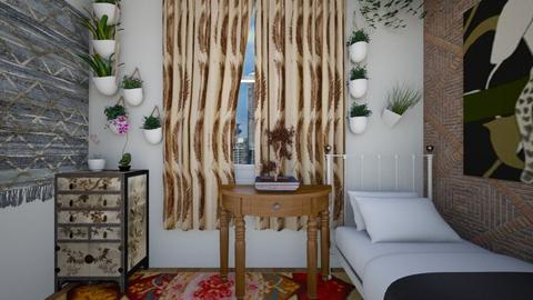 Boho Bedroom - Bedroom - by SammyJPili