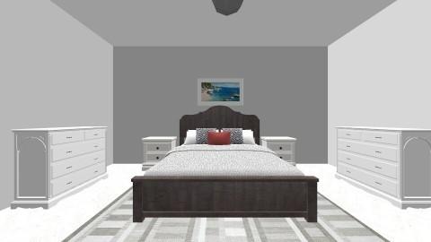 White Master Bedroom - by avanren