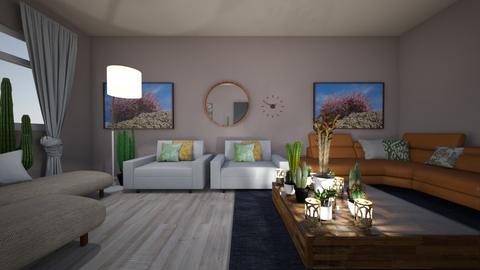 GrandCanyon - Living room - by HeidiNel