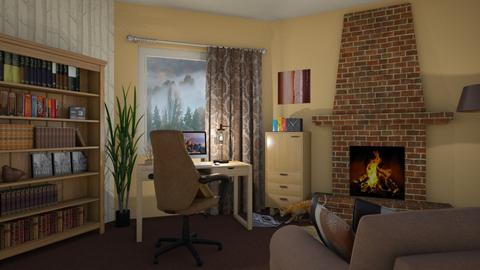 Warm corner - Office - by CCPompey