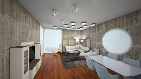 modern living - Modern - Living room - by eze4546