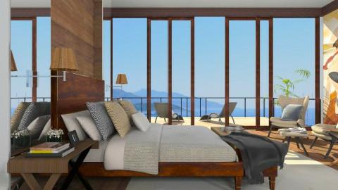 Yoo inspired bedroom - Bedroom - by XValidze