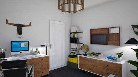 Atelier birou - Office - by LetiG