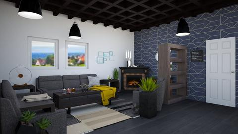 LivingRoom - Modern - Living room - by Isaacarchitect