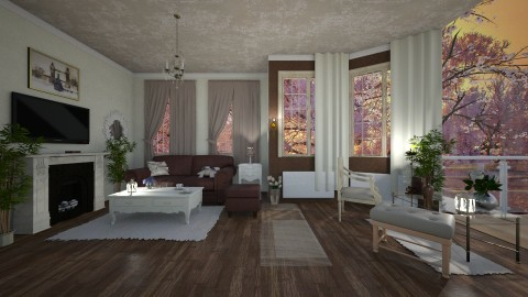 Small house Big view - Classic - Living room - by Milapr