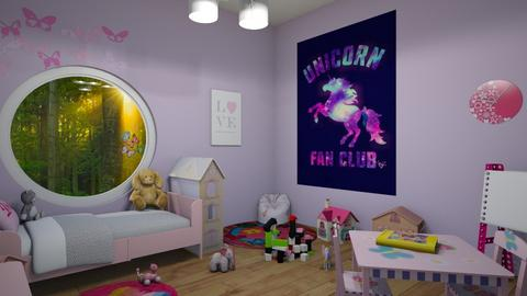 Holly - Kids room - by miah