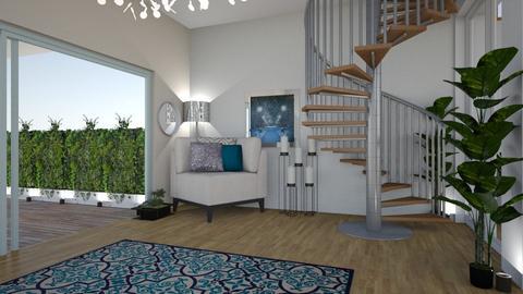 Deniz - Living room - by zenaalomran