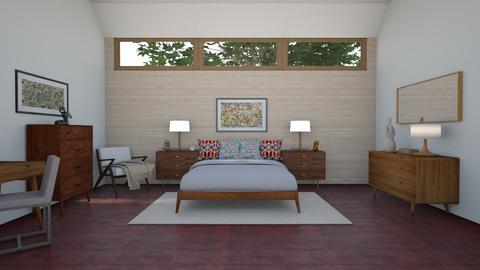 Mid Century Modern BR 1 - Bedroom - by  krc60
