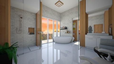 Woody Lux - Modern - Bathroom - by Veny Mully