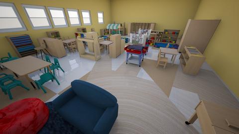 classroom - Kids room - by RKKPEFJJLNYJXKHMFUUEBQEXXNFKNYQ