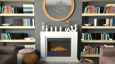 Library Living Area - Eclectic - Living room - by mydeco Insider