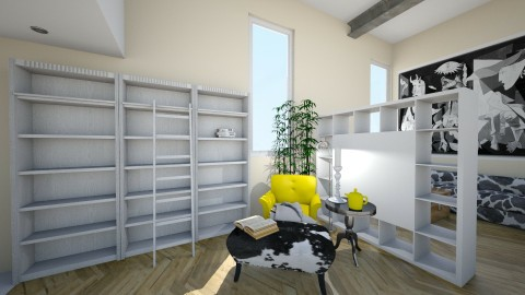 Loft in Madrid Amarillo - by ericeira